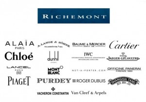 Richemont brands