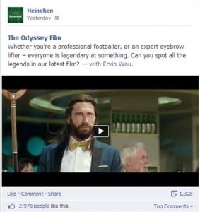 Heineken Film Post