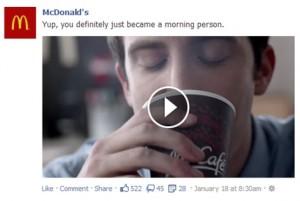 McDonalds TV Ad Post