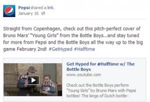 Pepsi Bottle Boys