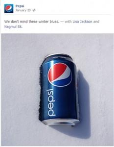 Pepsi Winter Blues