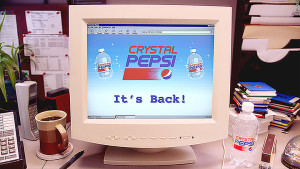 Crystal Pepsi Relaunch